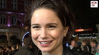 Katherine Waterston Interview Steve Jobs Premiere