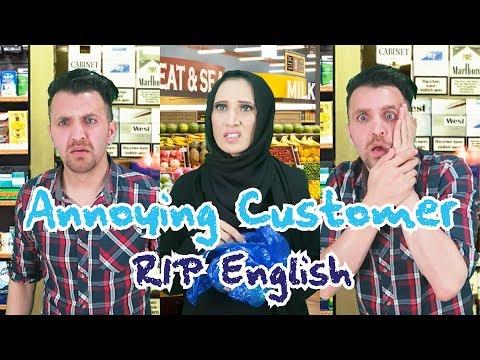 Annoying Customer (RIP English Part 3) | OZZY RAJA
