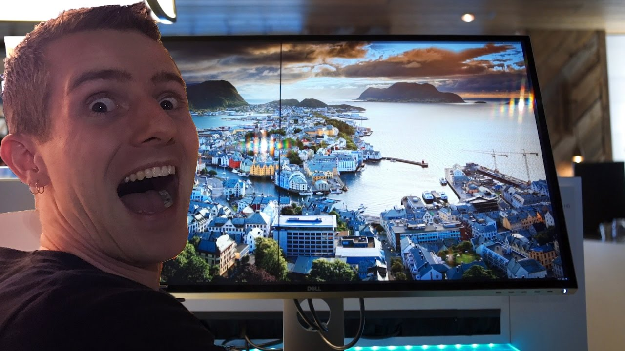 this 8k monitor is amazing youtube