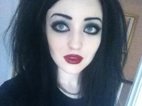 classic gothic makeup tutorial  youtube