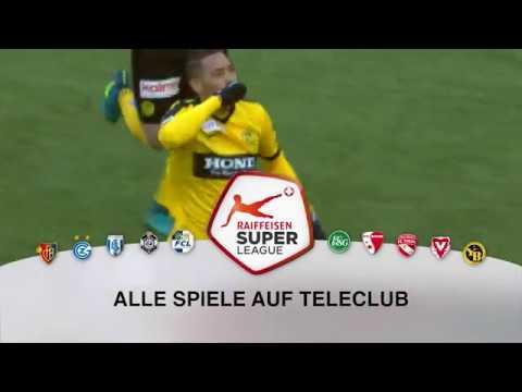Raiffeisen Super League - Start der Rueckrunde
