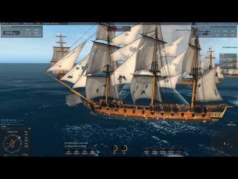 Naval Action: Nice PvP outside Fort Royal