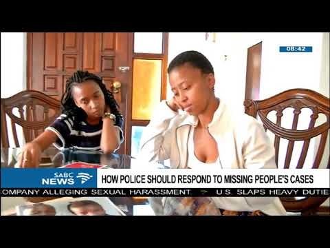How police should respond to missing people's cases