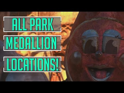 Fallout 4 - ALL Park Medallions Location Guide