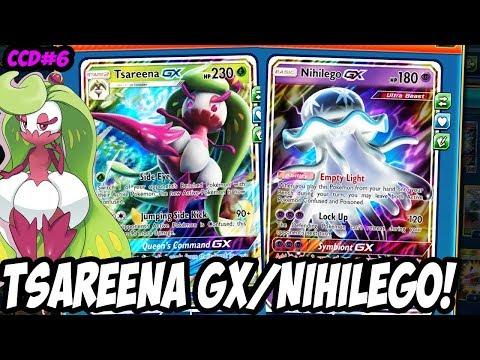 Crazy Combo Deck#6 Tsareena GX/Nihilego GX! Tsareena GX's New Best Friend! PTCGO