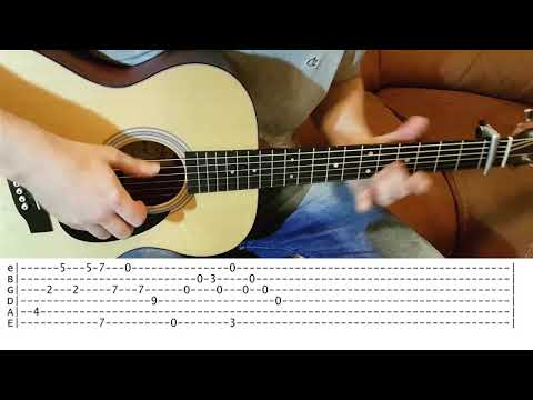 Your song - Elton John - Fingerstyle Guitar with TABS