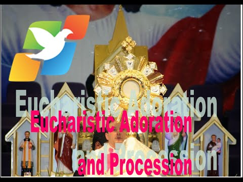 Eucharistic Adoration and Procession on 14/02/2015