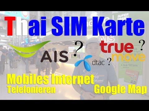 Online In Thailand...total Easy! Thai Sim Karte  | Thailand Urlaub | VLOG#7