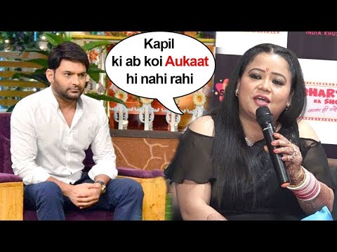 Bharti Singh Makes FUN Of Kapil Sharma At The Launch Of Her New Comedy Show, Bharti Ka Show