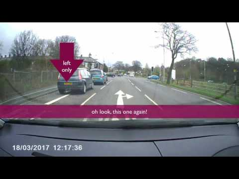 Leeds Bradford Bad Driving UK #9