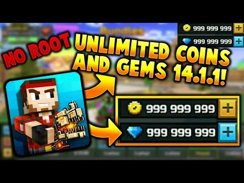 Pixel Gun 3D - Hack/Mod 14.0.5 | Unlimited Coins And Gems, Max Level, All Guns (No Root) *WORKING*
