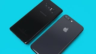 iPhone 8 Plus vs Note 8 - ULTIMATE Comparison!