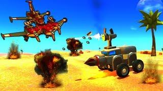 - Terra Tech ВСЕ СНАЧАЛА видео про боевые машинки Джипы Монстр траки Танки Самолеты от Funny Games TV