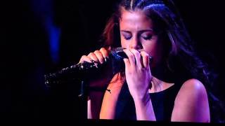 Selena Gomez = Dream (Priscilla Ahn Cover) = Winnipeg MTS Center - Stars Dance Tour Live 2013