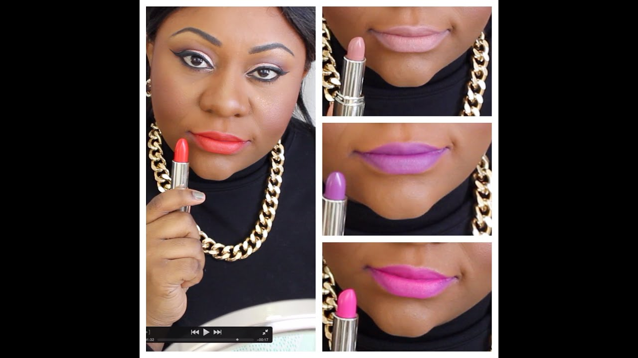 NEW MILANI MATTE LIPSTICKS SPRING 2015 LIP SWATCHES YouTube