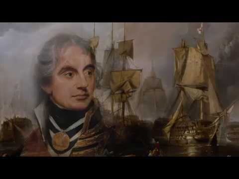 HMS Victory Profile Print maritime art Tribute to Lord Nelson