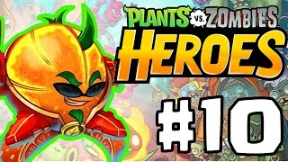 Plants vs. Zombie Heroes Part 10 | MOST POWERFUL ZOMBIE BOSS!!! | Best New PVZ Game IOS/ANDROID!