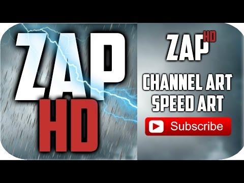 ZAPPIN HD CHANNEL ART - SPEED ART