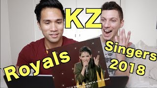'Royal' by Kz Tandingan with KZ's Life Story Ep. 9 SINGER 2018 | REACTION