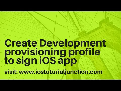 How To Create A Development Provisoing Profile In Ios App Development Using Apple Developer Portal