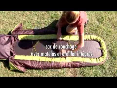 Quechua Sleepin Bed - YouTube 5778bea7ba4