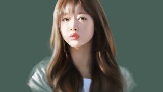 아이패드 그림 - 오마이걸 유아입니다. | Portra…