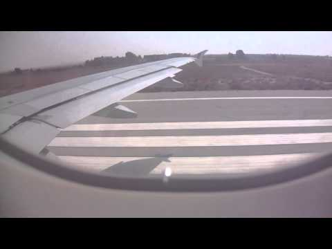 Gulf air take off at amman airport.......flying to bahrain