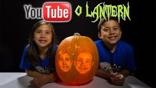 MYSTERY SURPRISE PUMPKIN SCULPTURE!!! #YouTubeOLantern