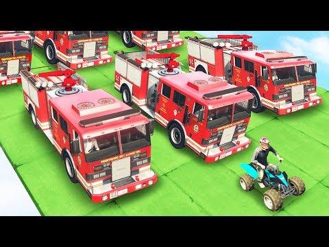 QUADS VS FIRETRUCKS! (GTA 5 Funny Moments)