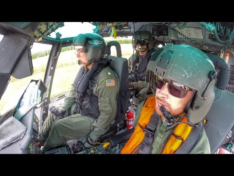 Oshkosh U.S. Coast Guard Flight VLOG - Going Tactical