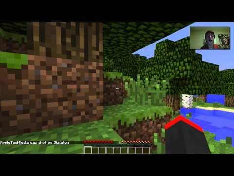 Minecraft Survival w/ Abby: Ep 2 - FLOOR DECOR