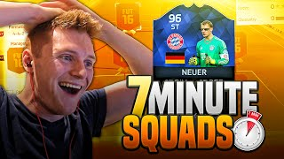 FIFA 16 - THE BEST STRIKER ON THE GAME??? | 96 TOTY NEUER AT STRIKER!!!