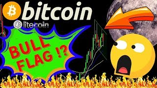 🚀BITCOIN BULL FLAG FORMATION IN MACRO!?🚀bitcoin litecoin price prediction, analysis, news, trading