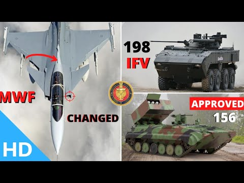 Indian Defence Updates : Why 'MWF' Name Dropped,156 BMP-2 Order Approved,198 New IFV Deal,UNSC India