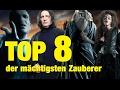 TOP 8 der mächtigsten Zauberer aus Harry Potter