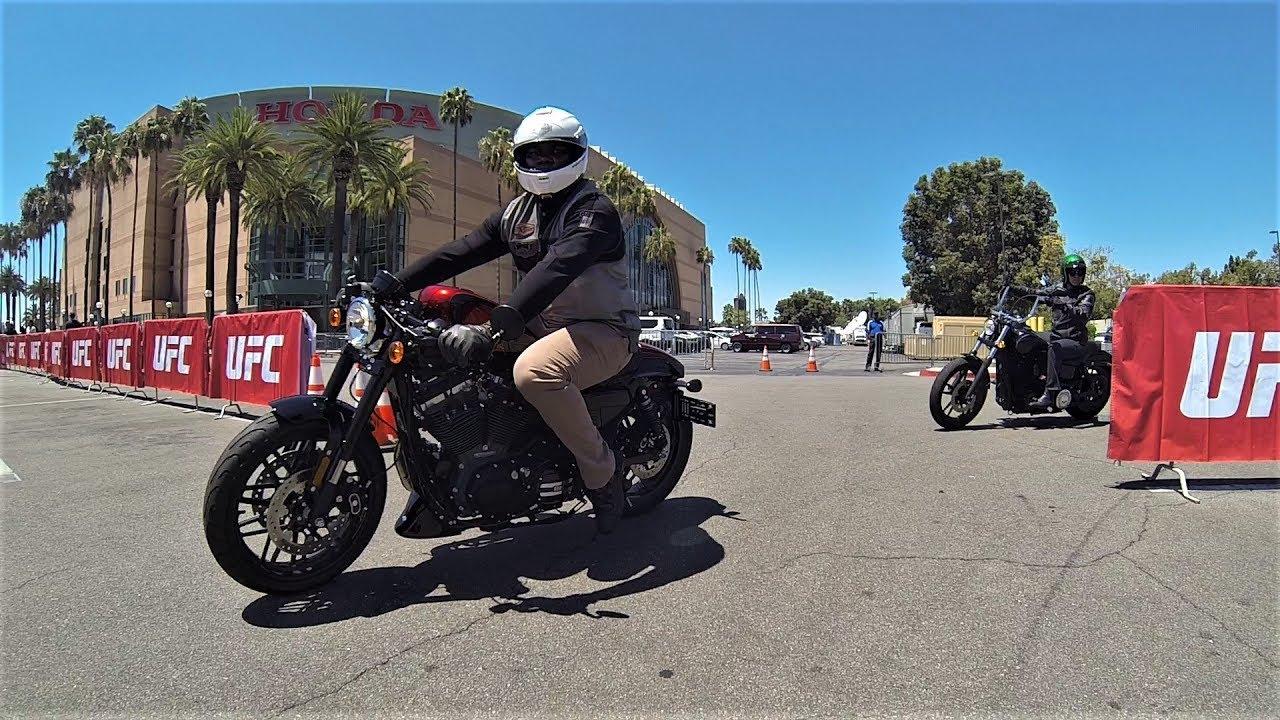Laidlaw's Harley-Davidson Ride to UFC 214 w/ Anthony