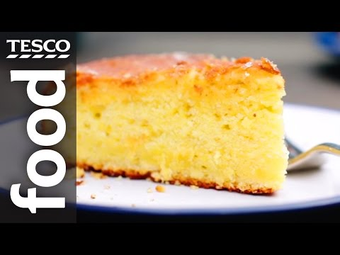 finest* Yogurt and Lemon Drizzle Cake Recipe | Tesco Food