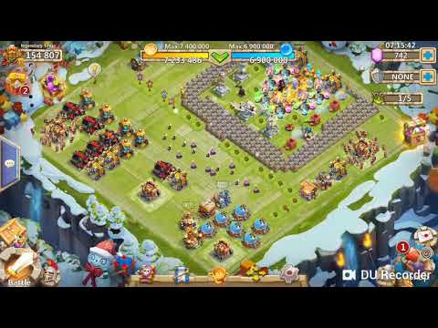 Castle Clash HBM AA Too AF F2p Strategy 100% Win