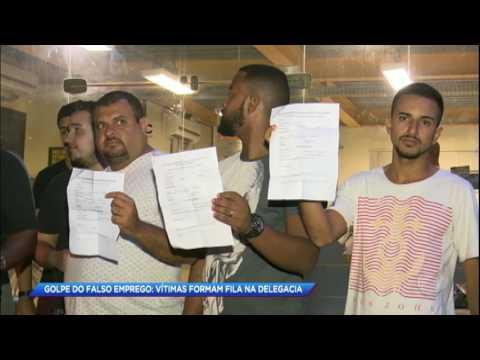 Mulher dá golpe do emprego em mais de 50 pessoas no Rio