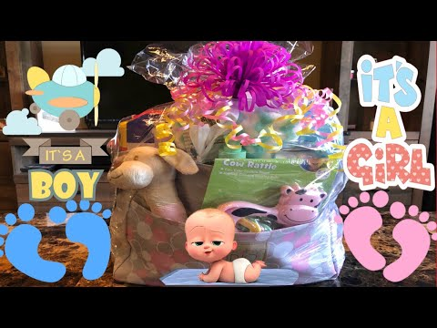 Diaper bag gift bag baby shower gift idea| Baby shower gifts on a budget