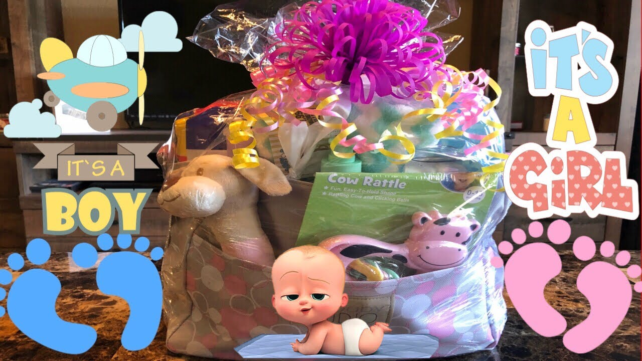 Diaper Bag Gift Bag Baby Shower Gift Idea Baby Shower Gifts On A