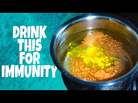 home-made-ayurvedic-kadha/concoction-for-immunity-|-healthy-kadha-at-home-|-bearded-chokra