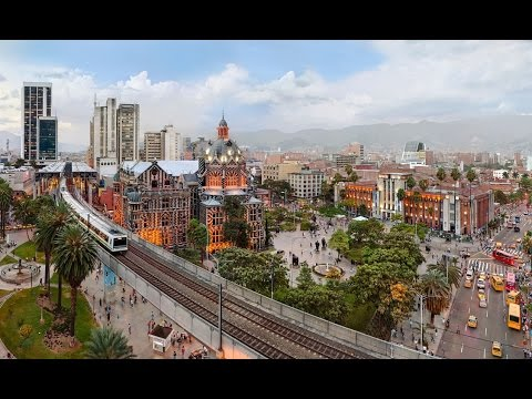 The Urban & Social Transformation of Medellin, Colombia