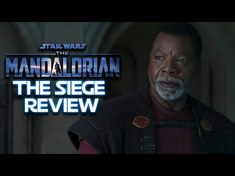 """Star Wars The Mandalorian S2E4 """"The Seige"""" Roundtable!"""