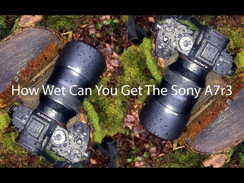 The Sony A7r3 and the real world weather seal test