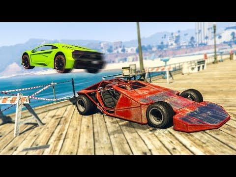 RAMP CAR TROLLING IN GTA ONLINE! - (GTA 5 Funny Moments)