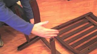 How To Assemble The Independence Rocking Chair