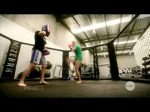 The Project: Aussie MMA Fighter Bec Hyatt Feature