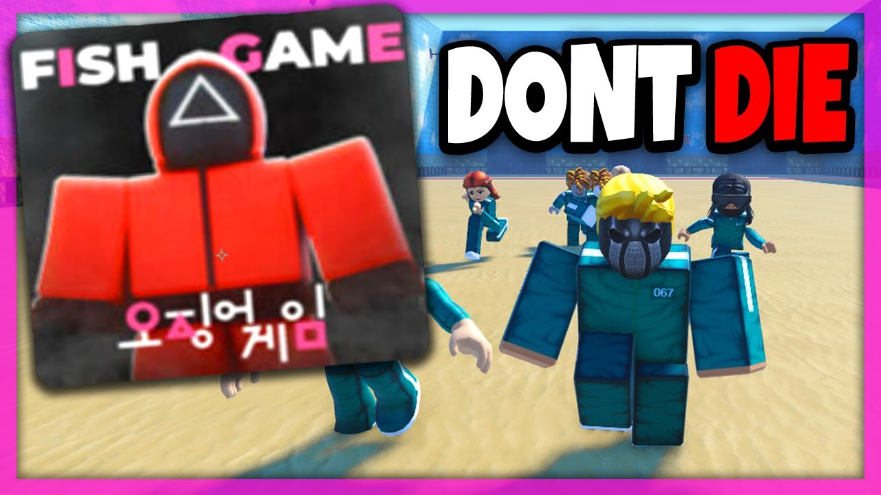 Download 🔴 IF I DIE IN ROBLOX SQUID GAME, THE STREAM ENDS!   ROBLOX FISH GAME LIVE