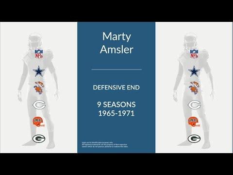 Marty Amsler: Football Defensive End